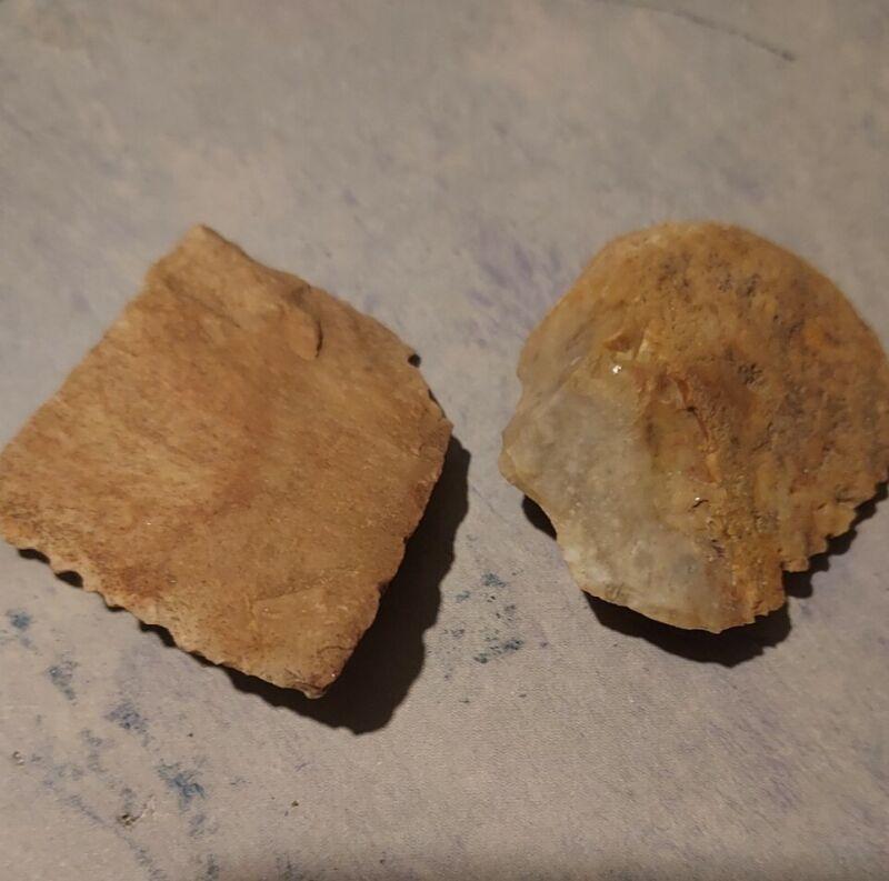 Arizona Anasazi Pottery Shards, Indian Artifacts, Jewelry Craft, #S02