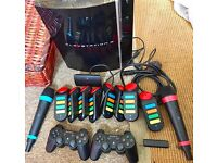 SONY PS3 WIRELESS ENTERTAINMENT BUNDLE PACK - EXCELLENT WORKING CONDITION - £85 ONO FOR EVERYTHING