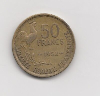 50 Francs Frankreich 1952    ( 1754)
