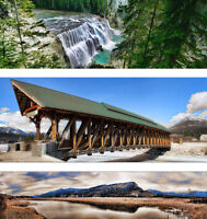 """Variety of Panoramic Prints in Stock. 33% OFF! 18"""" Length"""
