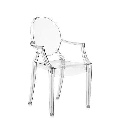 KARTELL sedia per bambini LOU LOU GHOST piccola design by Philippe Starck