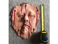 Professionally Hand Made Halloween Horror Prop - Flayed Face