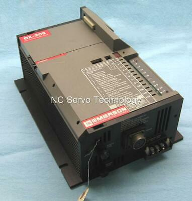 Emerson Dx-205 Positioning Servo Drive Rebuilt Pn 850023-01 6 Mo Warr Dxa-205