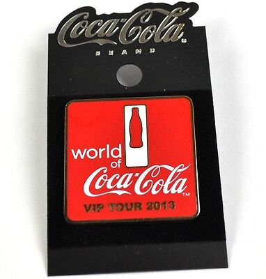 Edler Coca-Cola Coke USA Lapel Pin Button Badge Anstecknadel - VIP Tour 2013