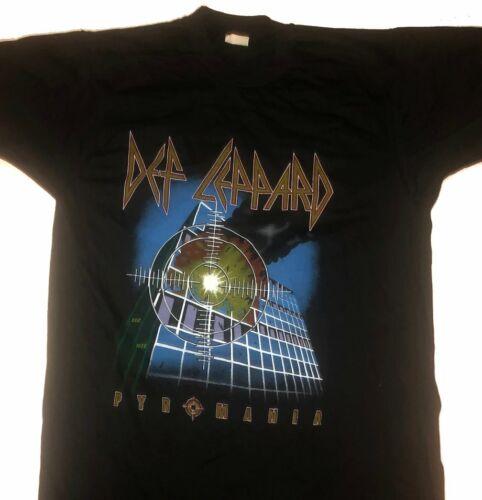 Vintage Def Leppard Shirt - 1983 Pyromania Tour - Never Worn XL