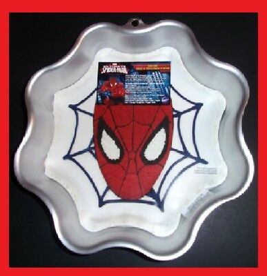 Marvel Ultimate Spider-Man Spider Web Cake Pan Wilton #2105-5072
