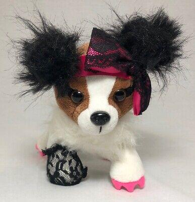 Ganz Webkinz Pop Star Plush Puppy Dog - Rockerz Papillon