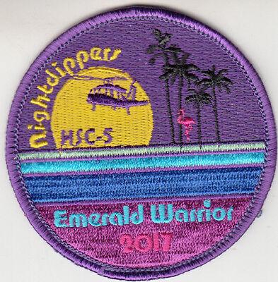 HSC-5 NIGHTDIPPERS EMERALD WARRIOR 2017 SHOULDER PATCH