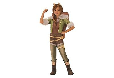 Deluxe Squirrel Girl CHILD Costume Size S Small 4-6 Marvel Rising Secret Warrior (Squirrel Kids Costume)