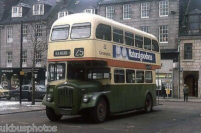 Grampian No.316 Aberdeen City Centre 1980 Bus Photo
