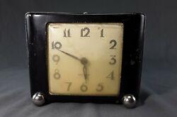 Vintage metal Westclox Wind-up Alarm Clock