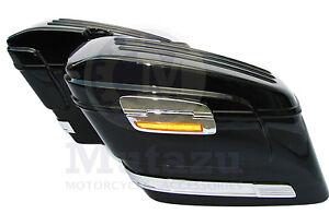 HL Hard Universal SADDLE BAGS fits most HONDA VTX R F N C F T 1300 1800