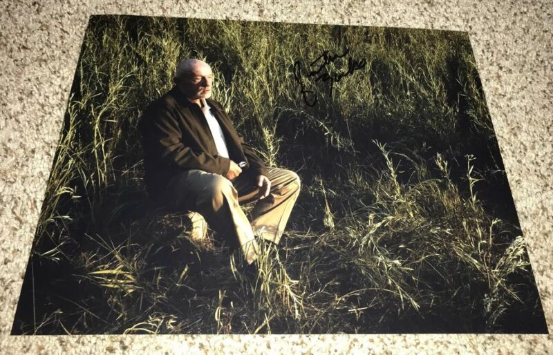 Jonathan Banks Signed 11x14 Photo Breaking Bad Better Call Saul With Proof