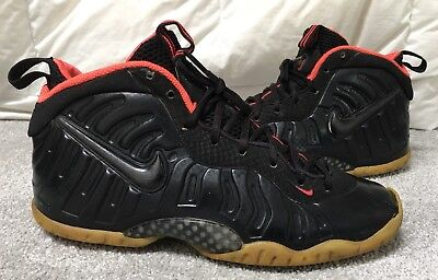 1a4d91e2303 ... best price nike air foamposite pro yeezy solar red youth size 7y  basketball shoes beaters 25d88 ...