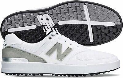New Balance Men's 574 Greens Golf Shoe, White, Size 11.0 0Rjg