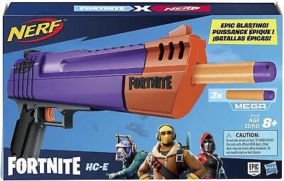 BRAND NEW - NERF Fortnite HC-E Mega Dart Blaster -- FREE SHIPPING