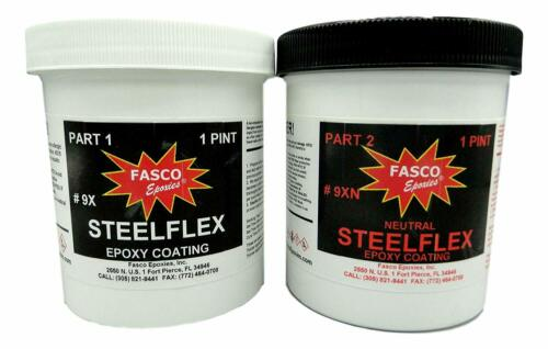 Fasco Epoxies Steelflex Neutral - Epoxy Bottom Coating - Quart Kit