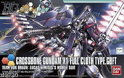 Bandai HG Build Fighters 035 CROSSBONE GUNDAM X1 FULL CLOTH 1/144 scale kit