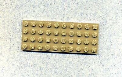 LEGO 3030 GRUNDPLATTE BAUPLATTE DUNKELBEIGE 4 X 10