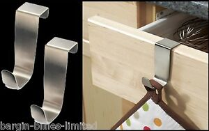 2-x-STAINLESS-STEEL-OVER-KITCHEN-CABINET-DRAW-DOOR-HOOKS-TOWEL-POT-HOLDER