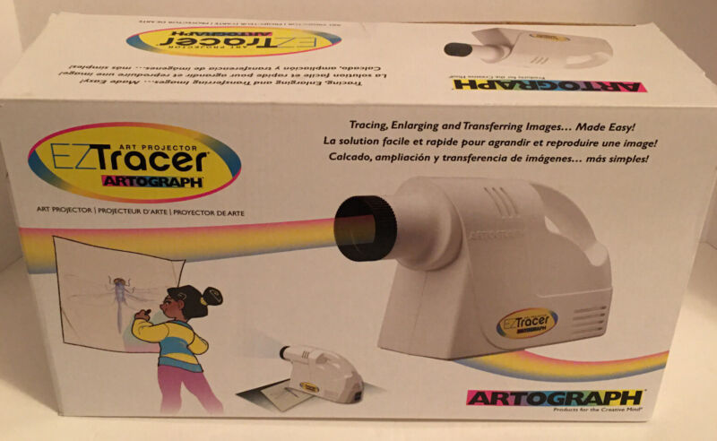EZ Tracer Artograph Art Projector Lightweight #225-550 Made In Taiwan