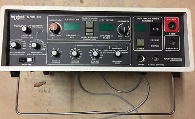 Chattanooga Intelect Vms Ii Ultrasound Variable Unit