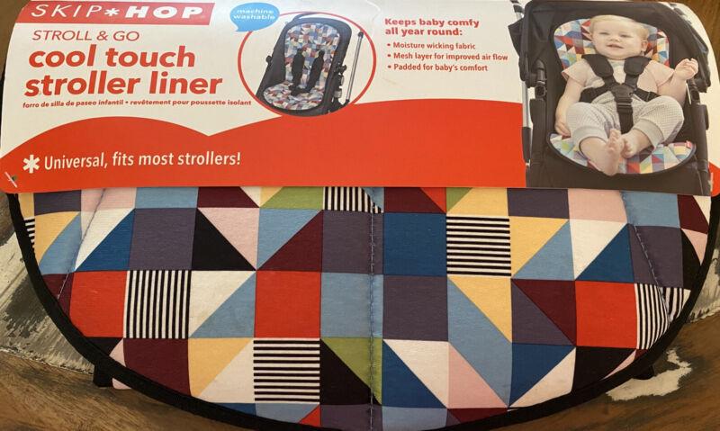 Skip*Hop Stroll & Go Cool Touch Stroller Liner - Prism NWT
