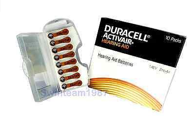 80 pcs Duracell Activair Hearing Aid Battery Size 312 Super Fresh Expire 2021