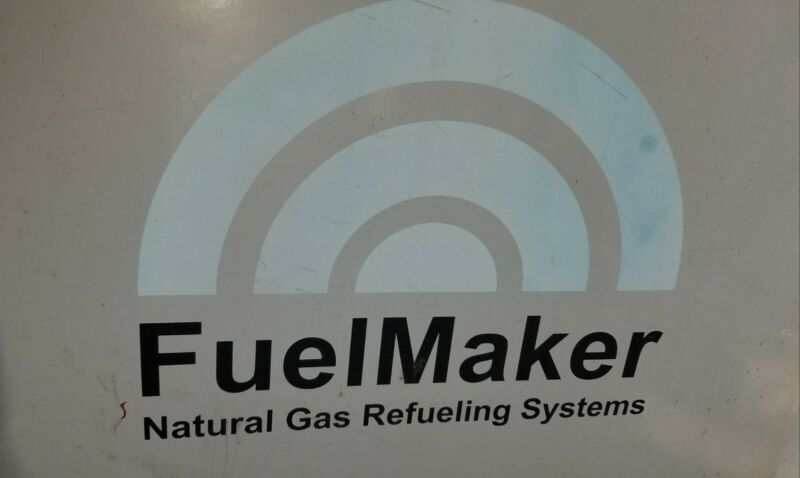 Mini CNG fast fuel package 3 Fuelmaker FMQ-8-3600 & new 9 cylinder bottle rack