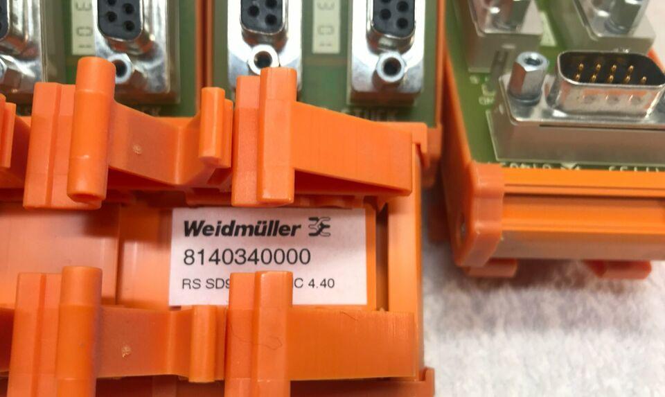 5x Weidmüller T-Stück 8140340000 RS SD9B SUB-D 3 Stecker in Bayern - Kleinaitingen