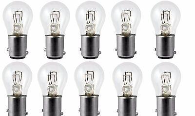 - 10x 1157 12v Light Bulb Auto Car Brake Stop Signal Turn Reverse Tail Lamp S8 Lot
