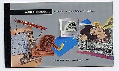 "Great Britain #BK166 (GR284) Comp 1999 "" World Changes"" Booklet, MNH, CV$55.00"