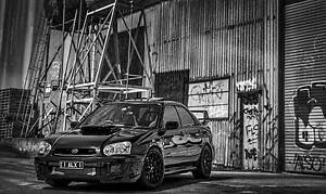 Subaru MY03 WRX STI Merrimac Gold Coast City Preview