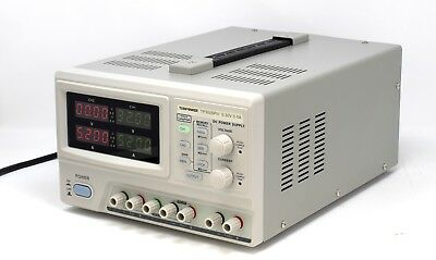 Tekpower Tp3005piii Programmable Dc Power Supply 0-30v At 0-5a Triple Outputs