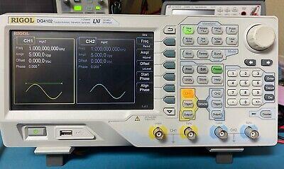 Rigol Dg4102 100 Mhz Function Generatorarbitrary Waveform Generator