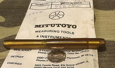 Mitutoyo Micrometer Shaft Carbide Tipped Pn 950745 New Old Stock Metric 106