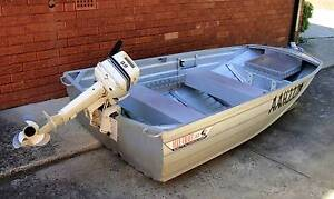 ALLY CRAFT  3 METRE CAR TOPPER WITH 9.9HP OUTBOARD Hurstville Hurstville Area Preview