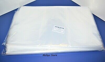 200 Clear 18 X 24 Poly Bags Open Top Lay Flat Plastic Packing Uline Best 1 Mil