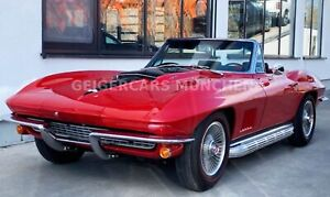 Corvette C2 Cabrio 427 Big Block  MATCHING NUMBERS