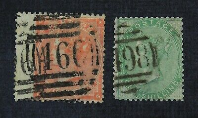 CKStamps: Great Britain Stamps Collection Scott#28 34 Victoria Used
