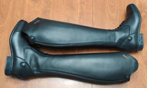 Sergio Grasso NEW Michel Robert tall field boots black 39 XHE 8-8.5 $1,099