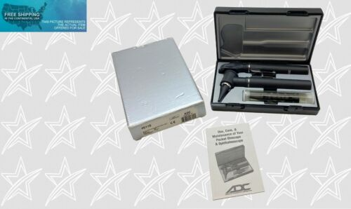 ADC Pocket Otoscope / Ophthalmoscope Set #5110 (Made in Germany) BRAND NEW