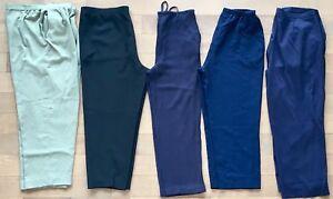 Lot 5 pantalons (16-18-xl) femme