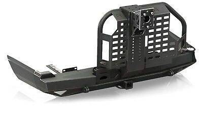 Rear Bumper with Tire Carrier & Hitch 1984-2001 FOR Jeep Cherokee Black