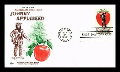 Johnny Appleseed Craft (DR JIM STAMPS US JOHNNY APPLESEED AMERICAN FOLKLORE FIRST DAY COVER)