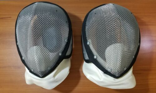"""Pair of """"CASTELLO"""" NYC Fencing Masks - SUPER Nice Shape - Clean"""
