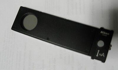 Nikon Eclipse Dic Microscope Pol H A Analyzer Insert