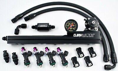 B18 94-01 Acura Integra V2 DevSport B-Series Tucked Fuel Feed Line // Filter