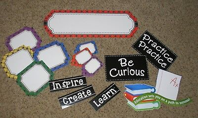Back To School Bulletin Boards (Teacher Resource:  Back to School Bulletin Board Set - 16)