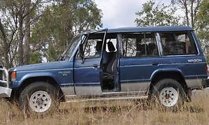 1990 Mitsubishi Pajero Wagon Laidley Lockyer Valley Preview